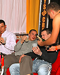 Gallery from Guys Go Crazy! Hot college guys are hanging out in romantic candlelit chillout room and start to get drunk and blow each other and get naked
