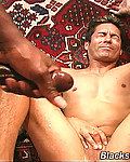 Gallery from Blacks on Boys! Interracial gay threesome assfucking  facials