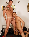 "Gallery from Alpha Male Fuckers! This is not only an Alphamalefuckers exclusive, but a first too!  Never before have we shown a ""Dad and Pup"" in action."