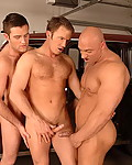 Gallery from Tight Gay Holes! Description: Three muscled motor mechanics fucks on the car