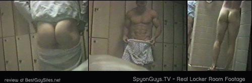 Spy on Guys - Naked men changing in the locker room